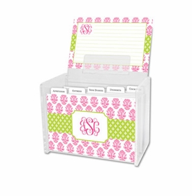 boatman geller beti pink recipe box