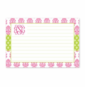 boatman geller beti pink recipe card