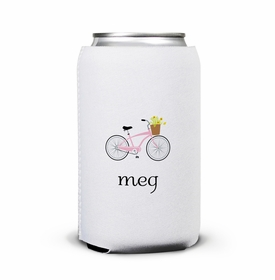boatman geller bicycle can koozie