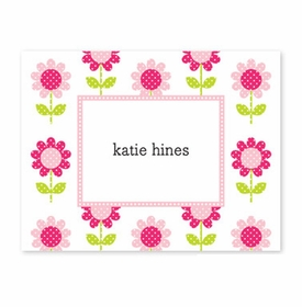 boatman geller big pink daisy foldover note cards