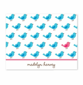 boatman geller birdies repeat foldover note cards