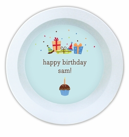 boatman geller birthday sky melamine bowl