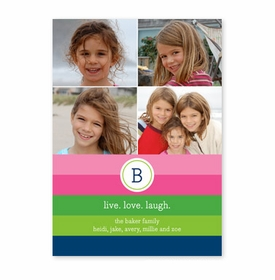 boatman geller bold stripe options photocard