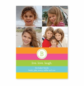 boatman geller bold stripe photocard