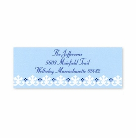 boatman geller border light blue address labels