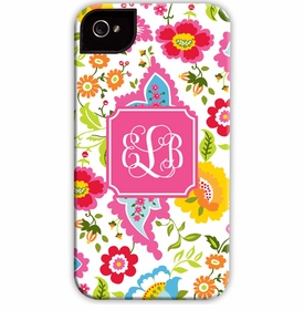 boatman geller bright floral cell phone case
