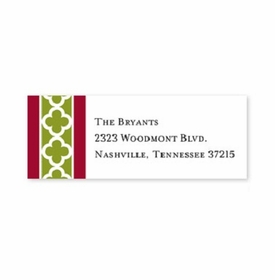 boatman geller bristol chain cranberry address labels