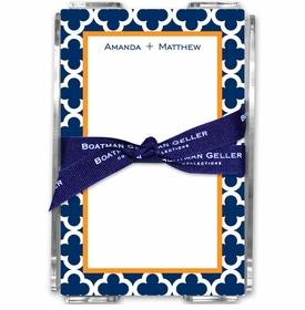 boatman geller bristol tile navy acrylic note sheets