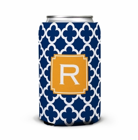 boatman geller bristol tile navy can koozie