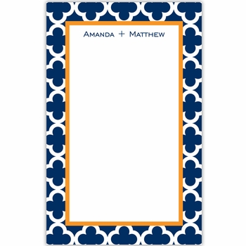 boatman geller bristol tile navy notepad