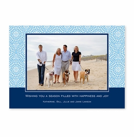 boatman geller bursts cornflower photocard