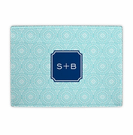 boatman geller bursts teal cutting board