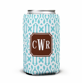 boatman geller cameron teal can koozie