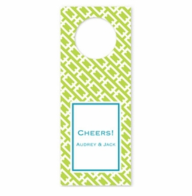 boatman geller chain link lime wine tags