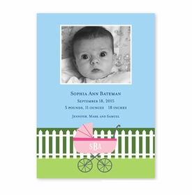 boatman geller charming pram pink photocard