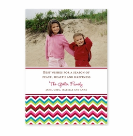 boatman geller chevron holiday photocard