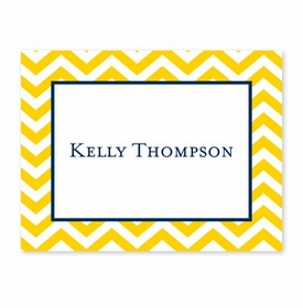 boatman geller chevron sunflower calling card
