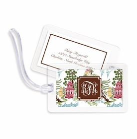 boatman geller chinoiserie autumn bag tags
