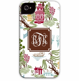 boatman geller chinoiserie autumn cell phone case