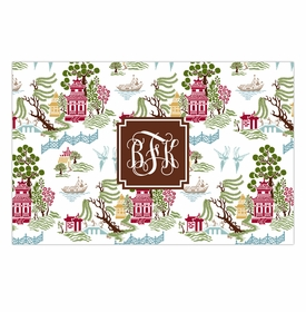 boatman geller chinoiserie autumn disposable placemats