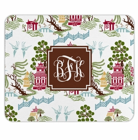 boatman geller chinoiserie autumn mouse pad