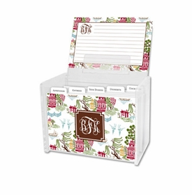 boatman geller chinoiserie autumn recipe box