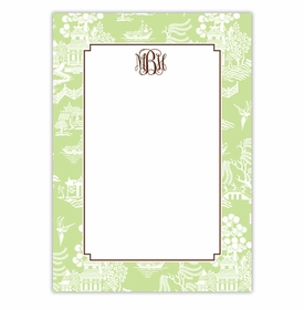 boatman geller chinoiserie green large flat
