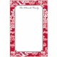 boatman geller chinoiserie red notepad