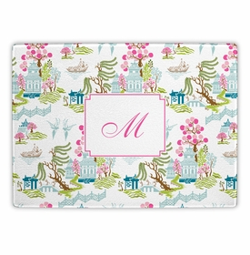 boatman geller chinoiserie spring cutting board