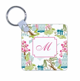 boatman geller chinoiserie spring key chain