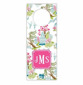 boatman geller chinoiserie spring wine tags