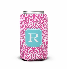 boatman geller chloe raspberry can koozie