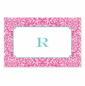 boatman geller chloe raspberry disposable placemats
