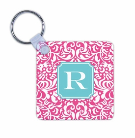 boatman geller chloe raspberry key chain
