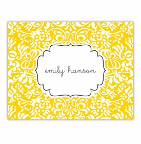 boatman geller chloe sunflower foldover note cards