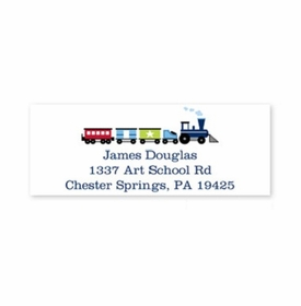 boatman geller choo choo train address labels