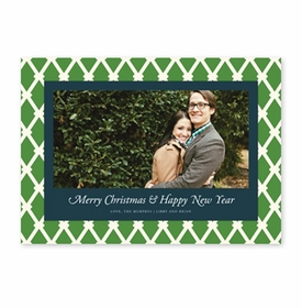 boatman geller claire green & dark navy photocard