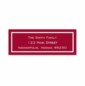 boatman geller classic cranberry address labels