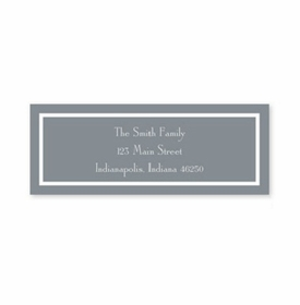 boatman geller classic gray address labels