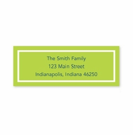 boatman geller classic lime address labels