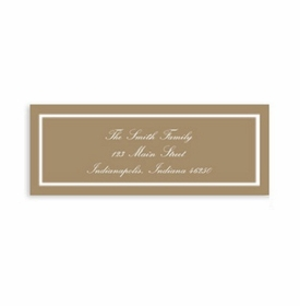 boatman geller classic mocha address labels