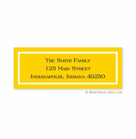 boatman geller classic sunflower address labels