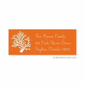 boatman geller coral address labels