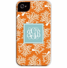 boatman geller coral repeat cell phone case