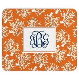 boatman geller coral repeat mouse pad