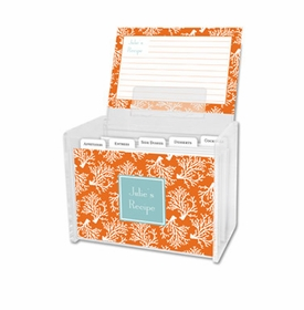 boatman geller coral repeat recipe box