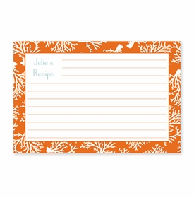 boatman geller coral repeat recipe card