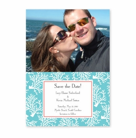 boatman geller coral repeat teal photocard