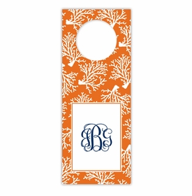 boatman geller coral repeat wine tags