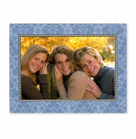 boatman geller damask blue photocard